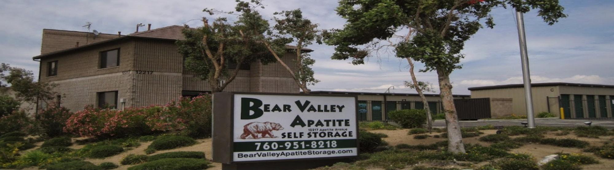 Bear Valley Self Storage