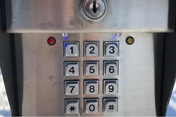 keypad secure entry Hollis, ME