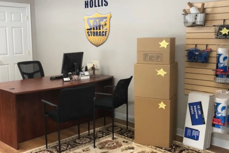Safe Storage Hollis Office