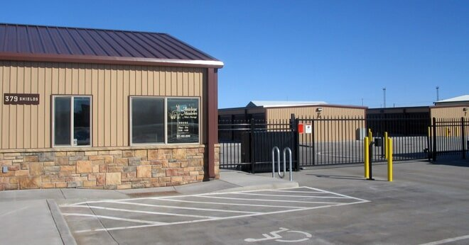 fenced and gated facility in Laramie, WY