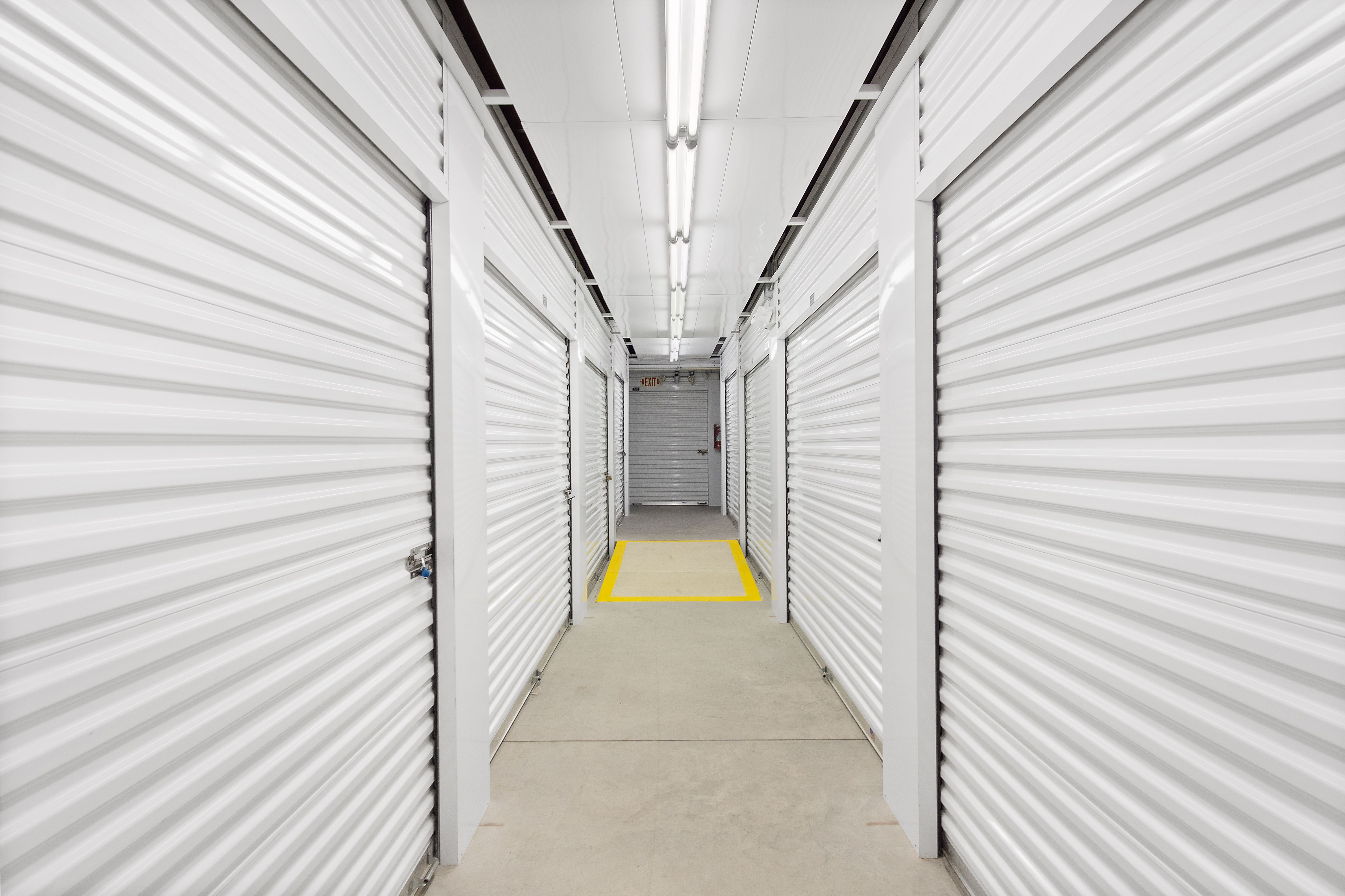 Inside climate control storage in Gainesville, FL
