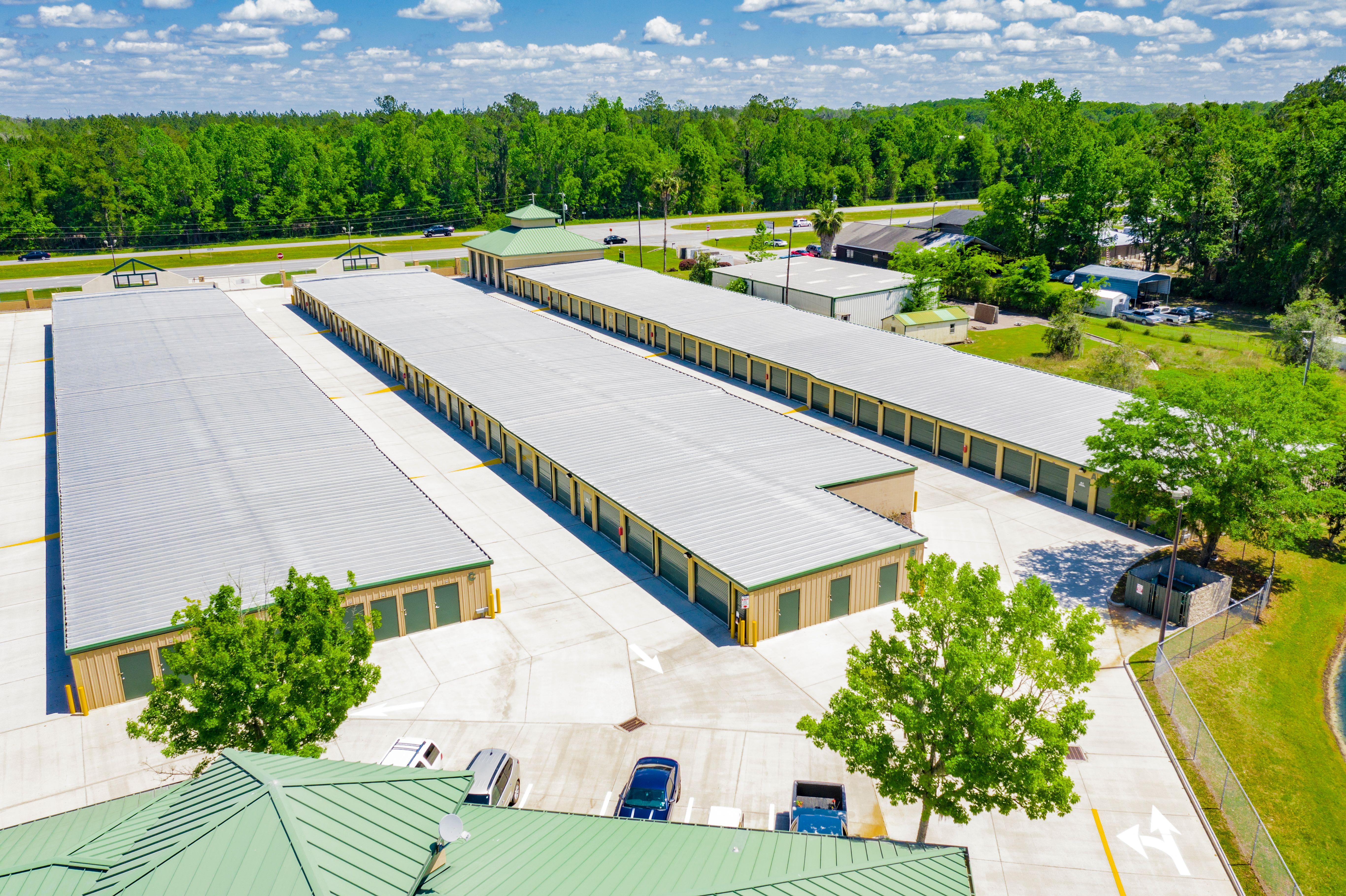 Sparkling self storage in Gainesville, FL