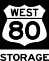 80 West Self Storage logo