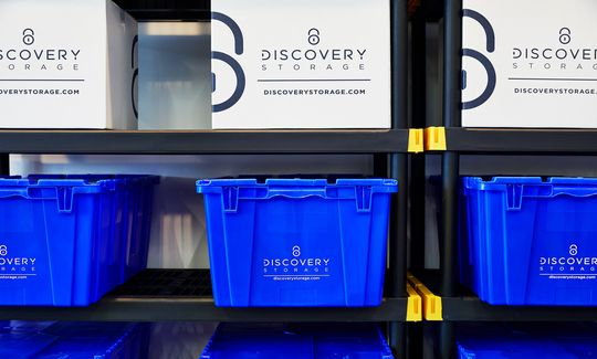 Crate Rentals at Discovery Storage