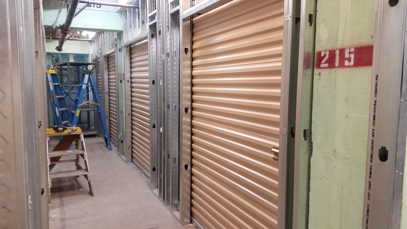 South Beverly Drive Storage remodel in progress