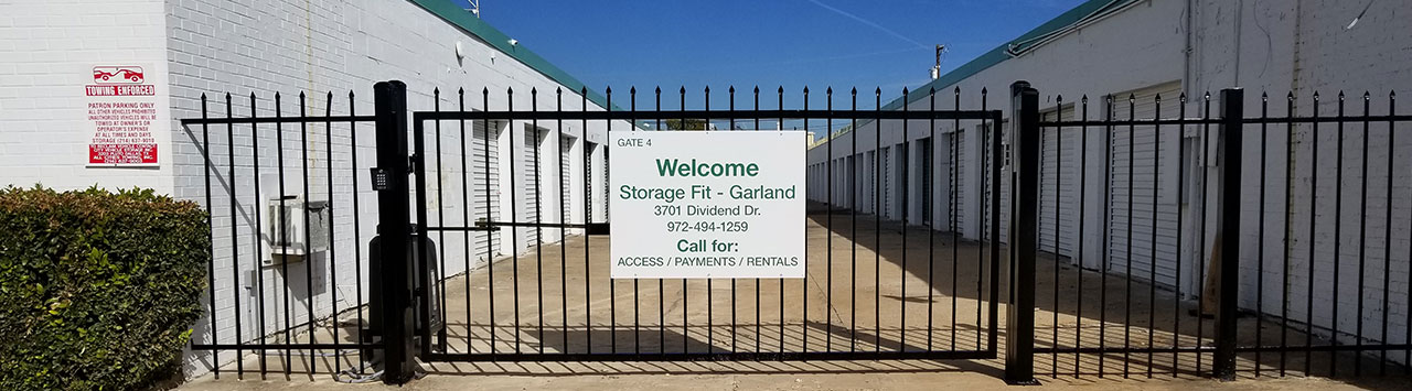 Self Storage, Storage Fit