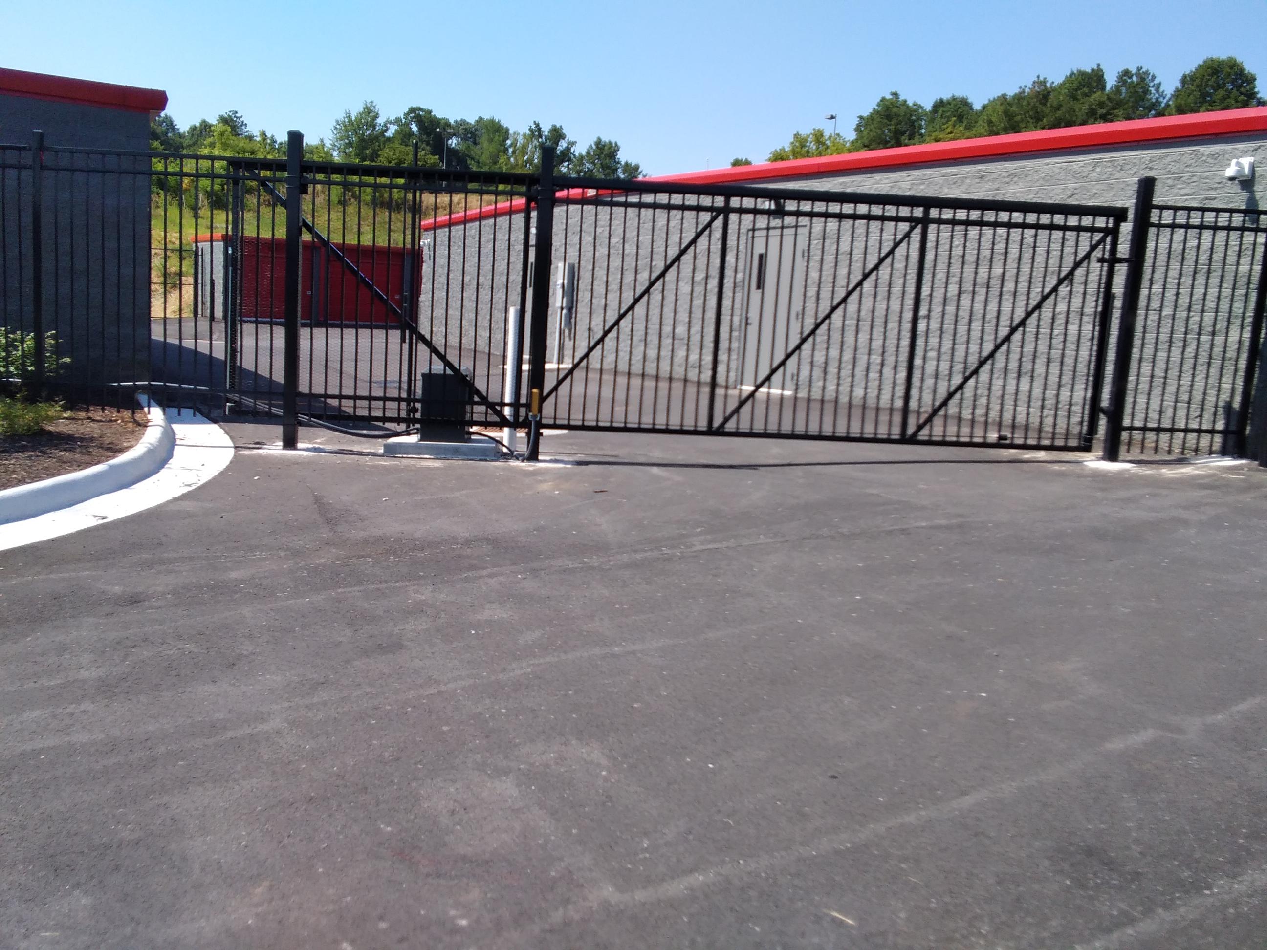 Creekside Storage Front Gate