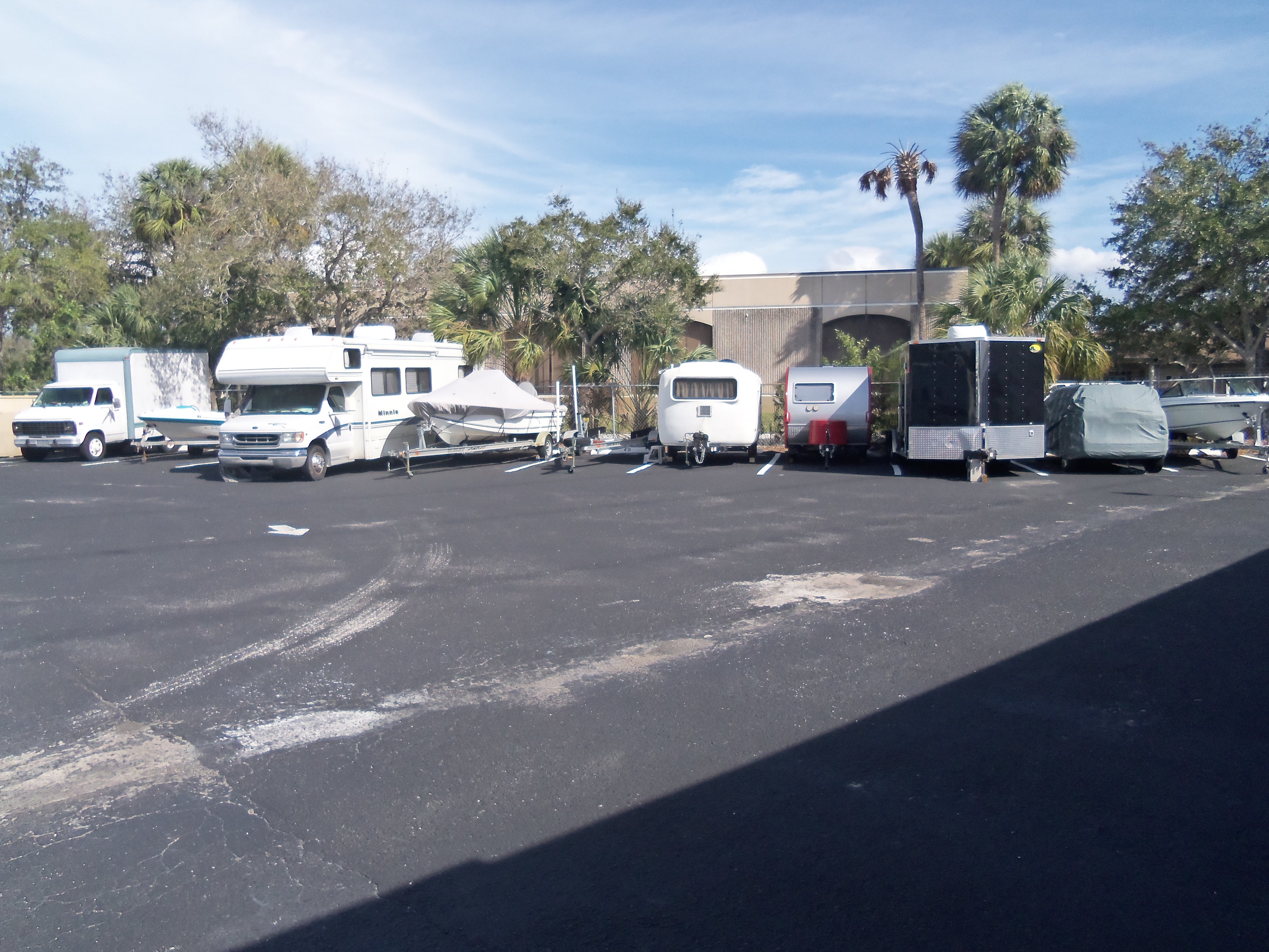 boat and rv parking