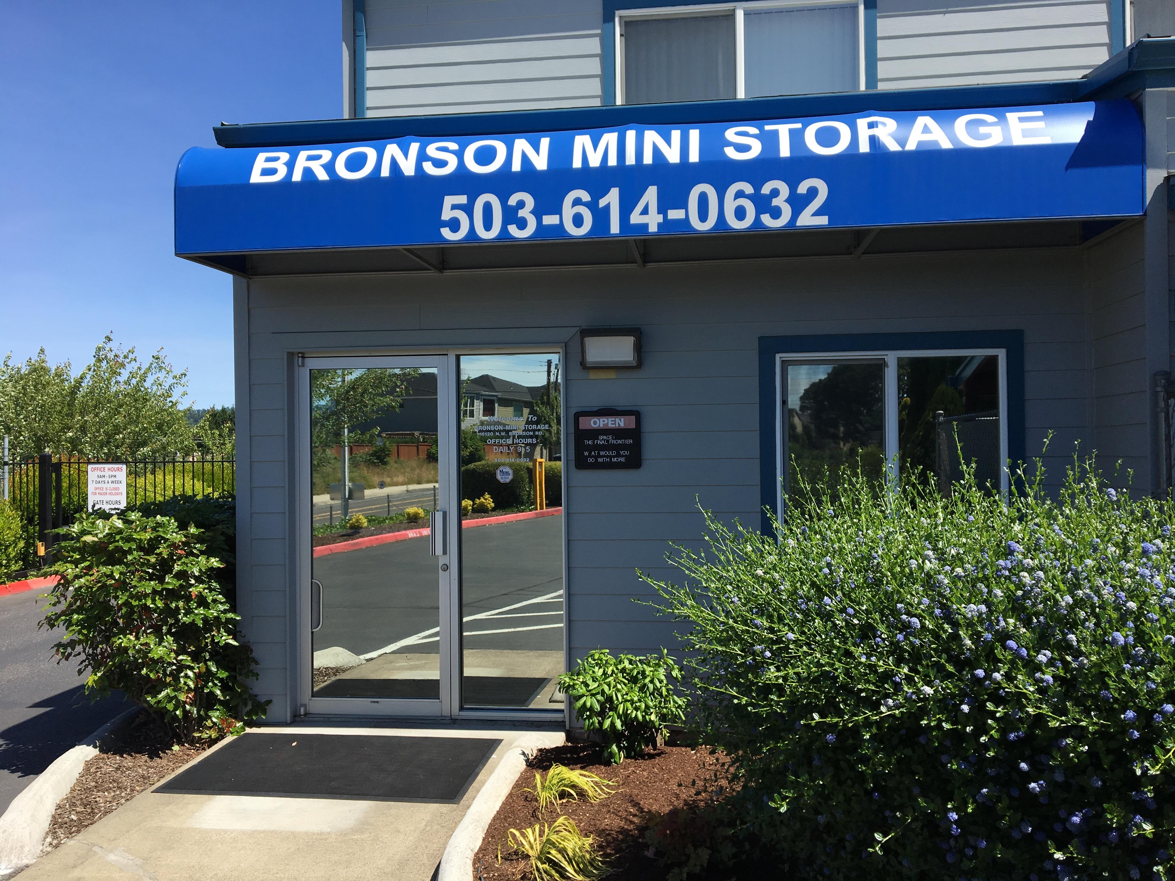 bronson self storage in Beaverton, OR