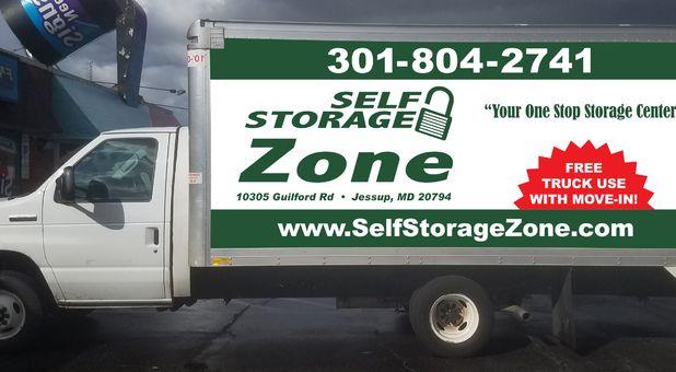 Self Storage Zone Box Truck