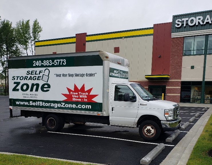 Free Truck Use to Move In