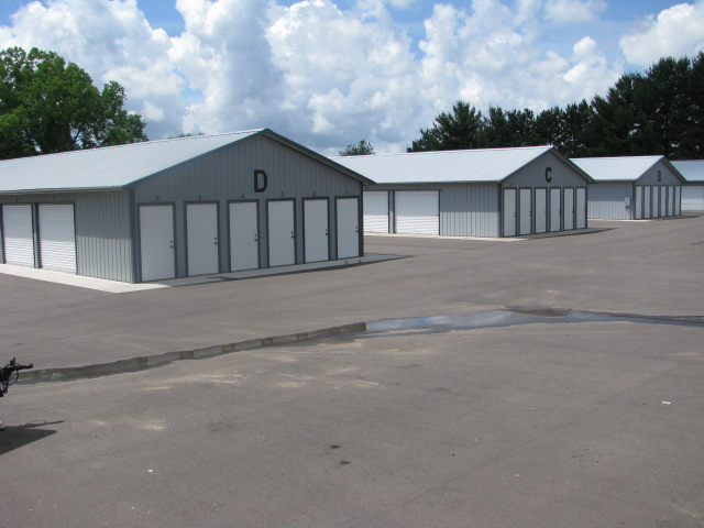 Storage Buildings with Exterior Access in Wisconsin