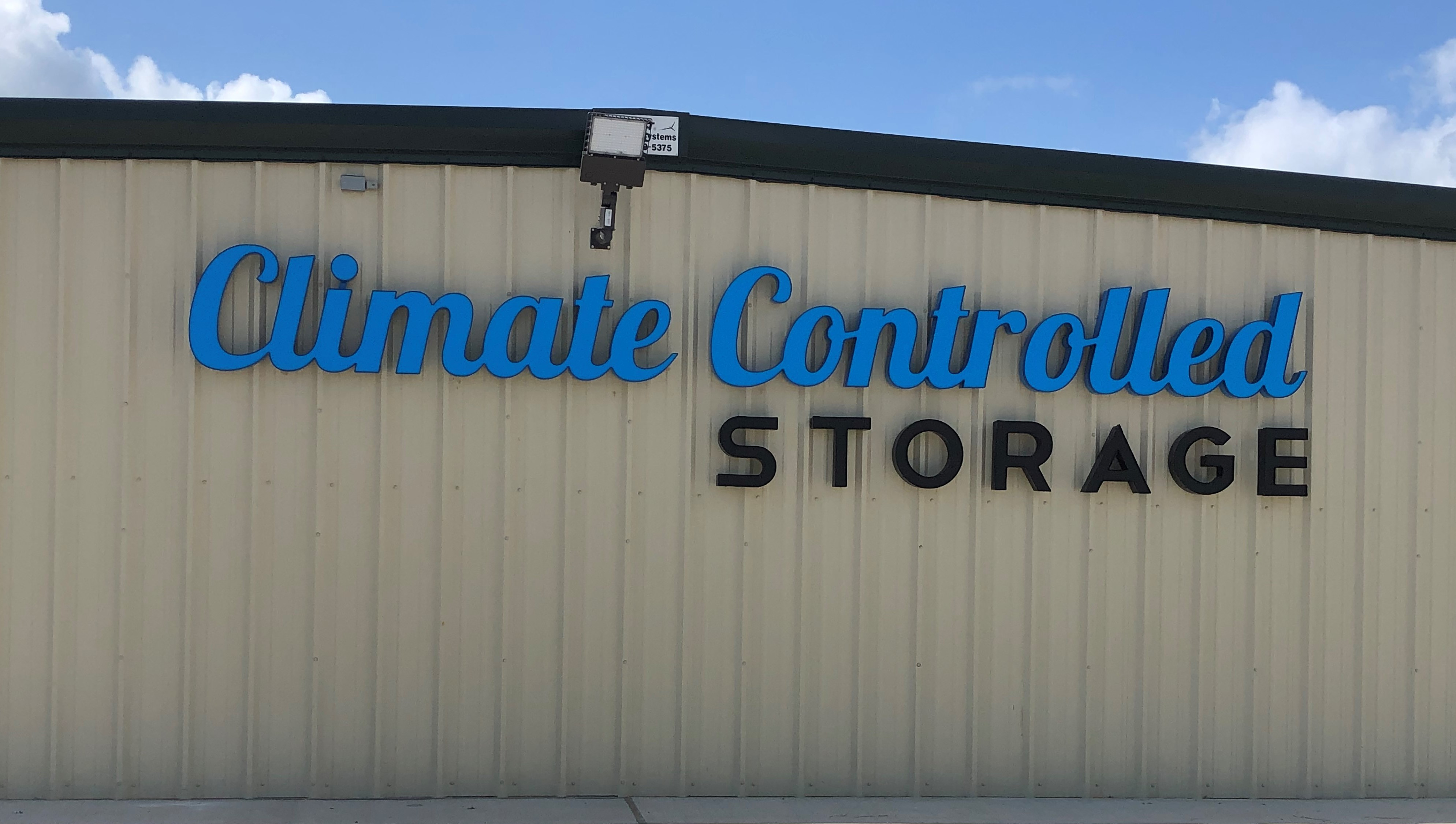 Climate control storage in Sealy, TX