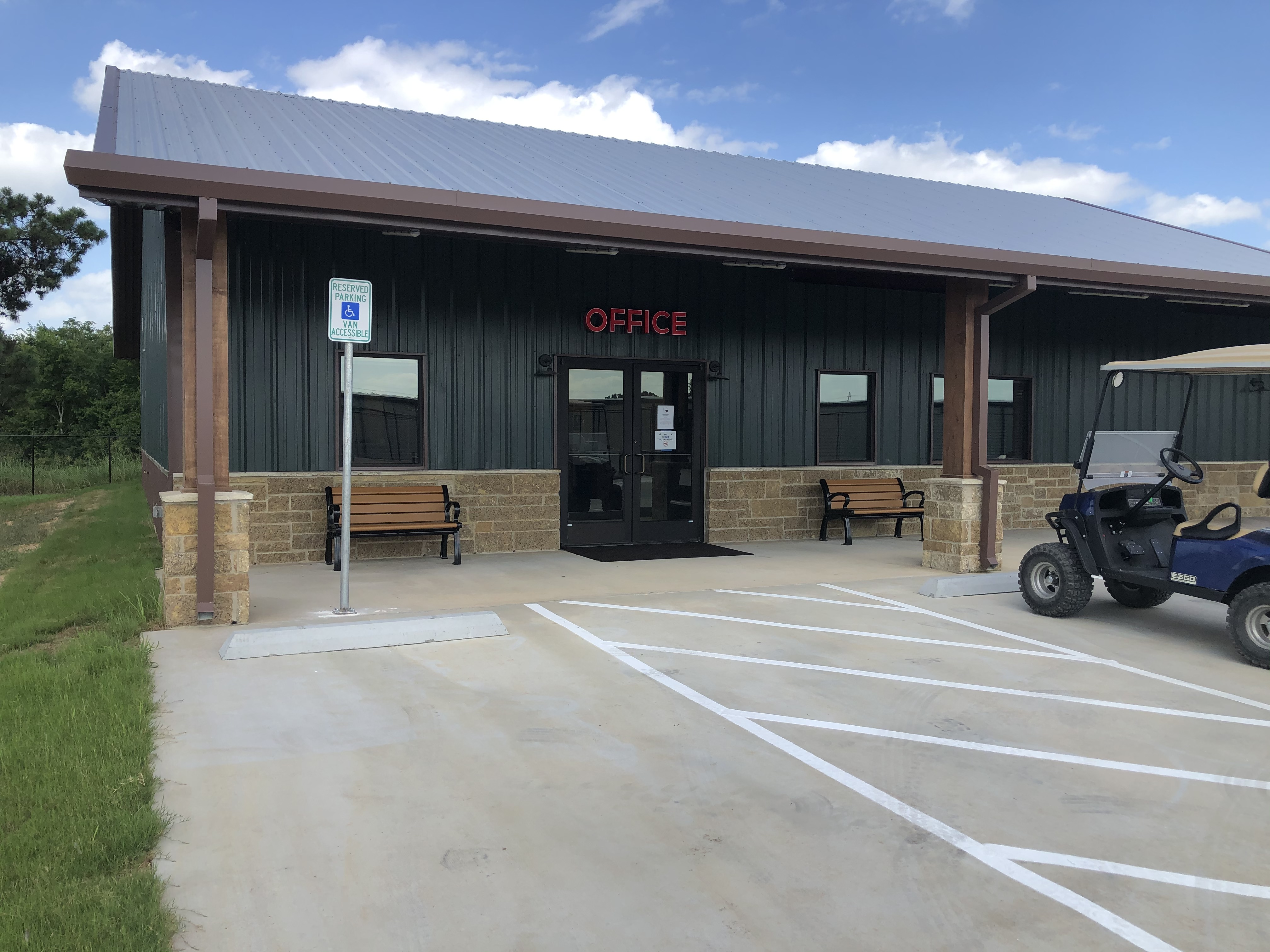 Friendly office staff available to assist you at Kathy's Kampground in Sealy, TX