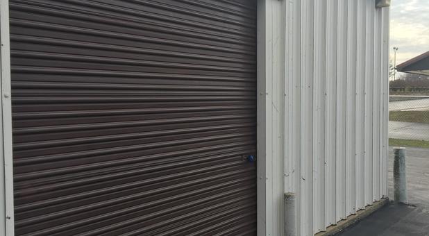 Entrance to a Buffalo South Storage unit