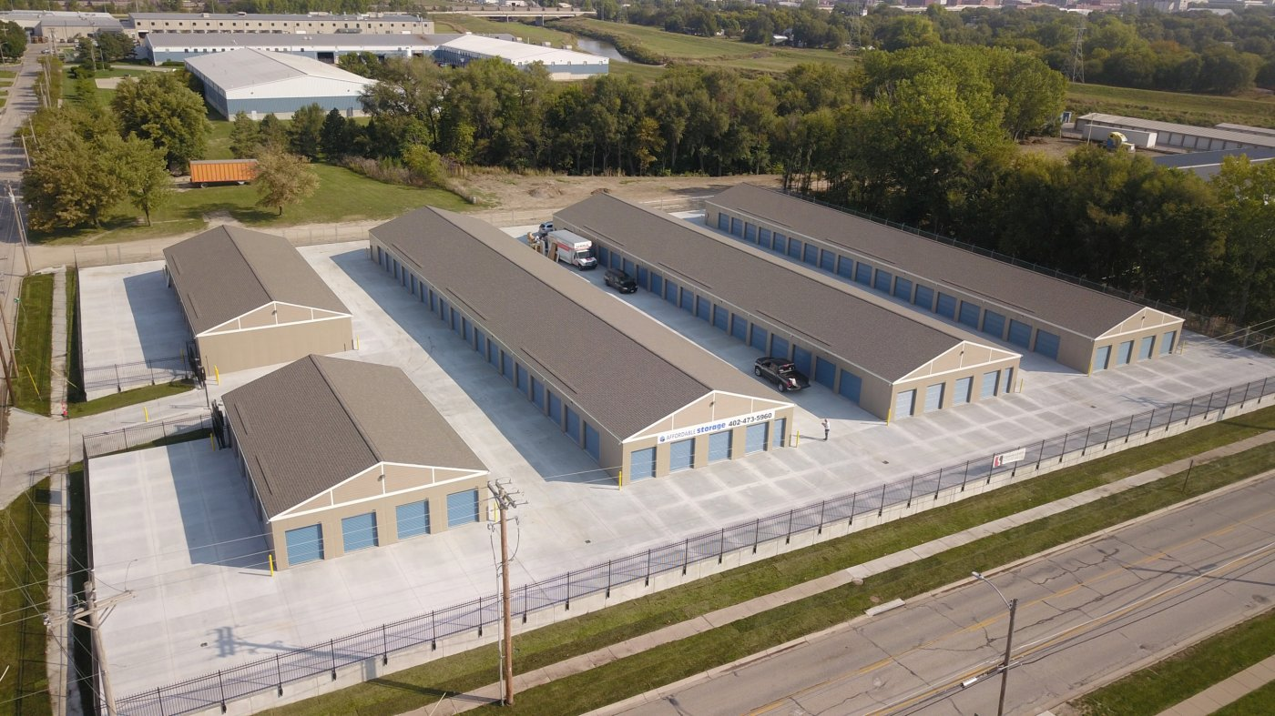 aerial view of the facility Lincoln, NE
