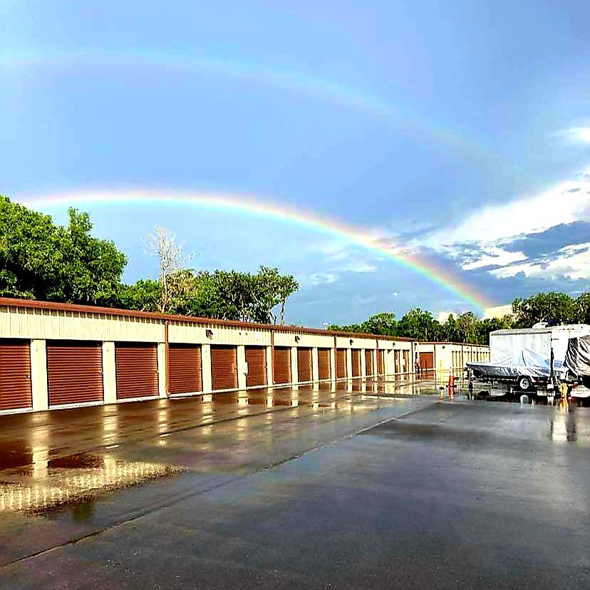 Lithia double rainbow