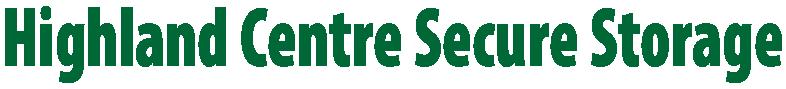 Highland Centre Secure Storage