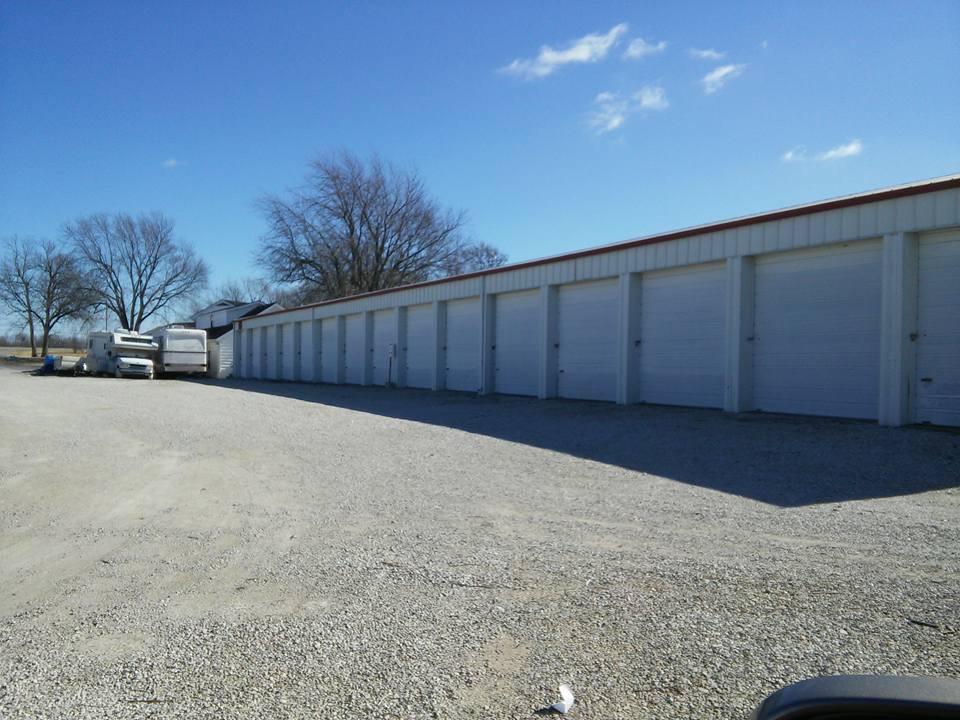 drive up storage building