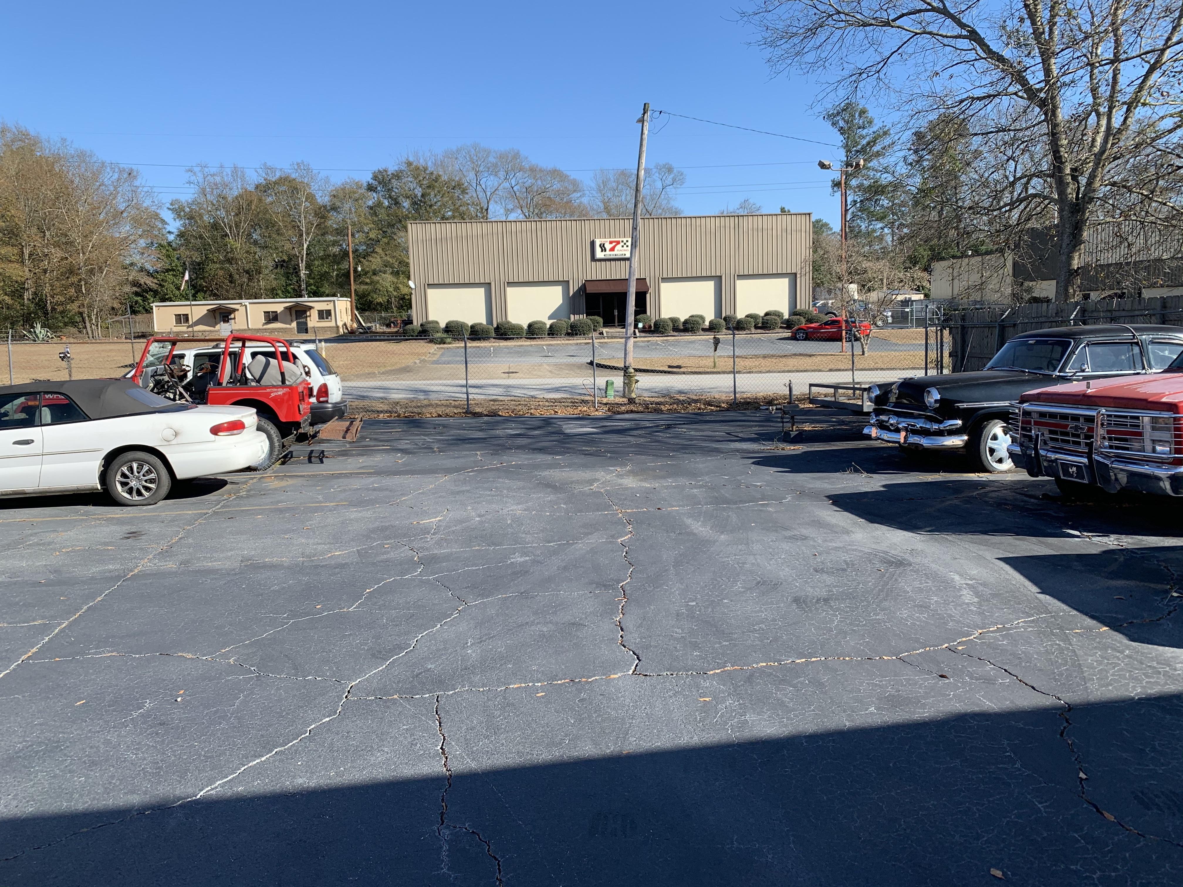 Parking spots in Columbus, GA
