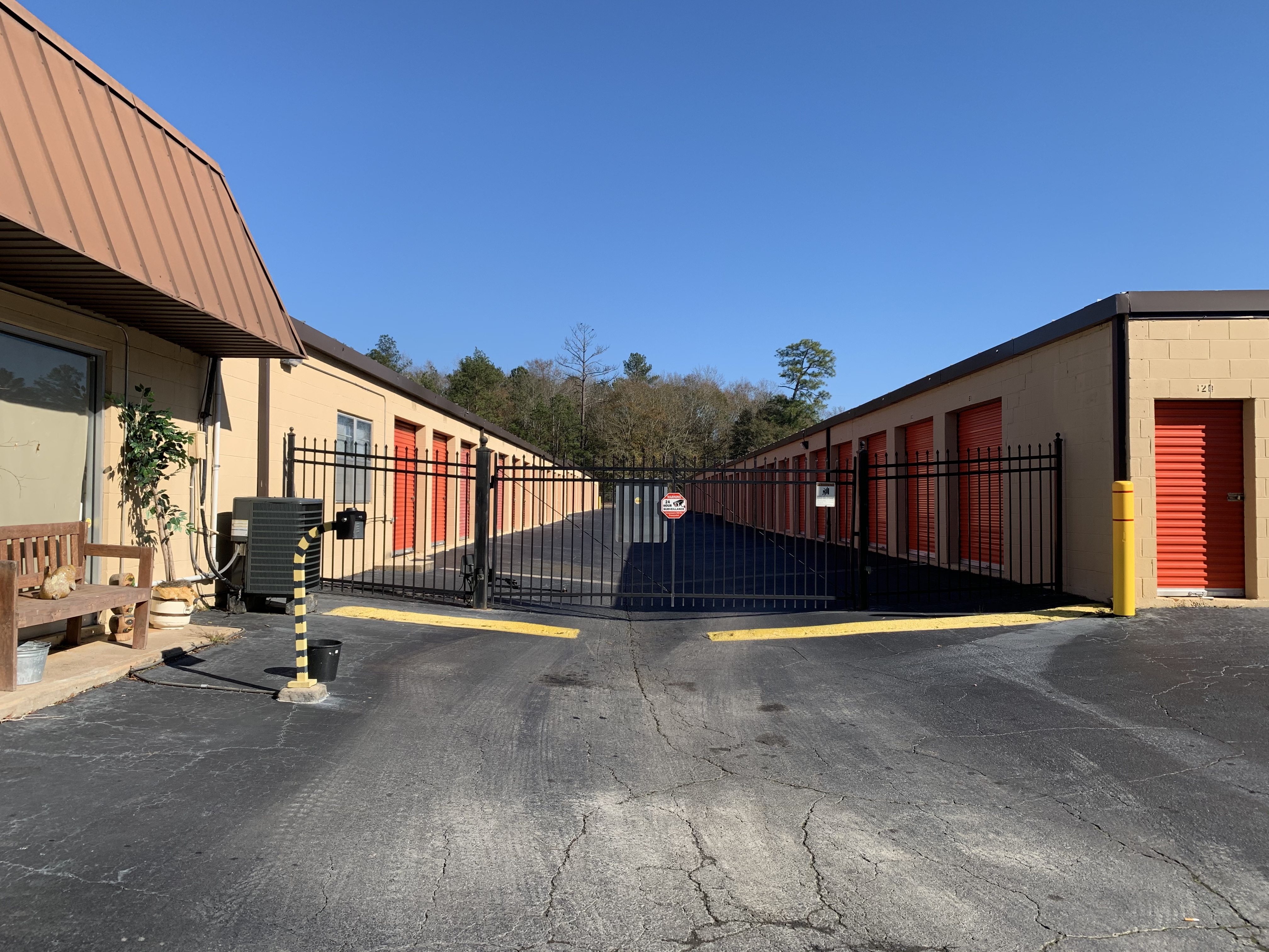 Fenced and gated storage in Columbus, GA