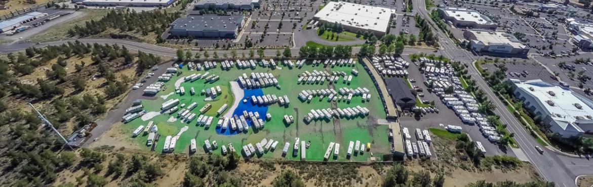 Toy House RV Storage facility