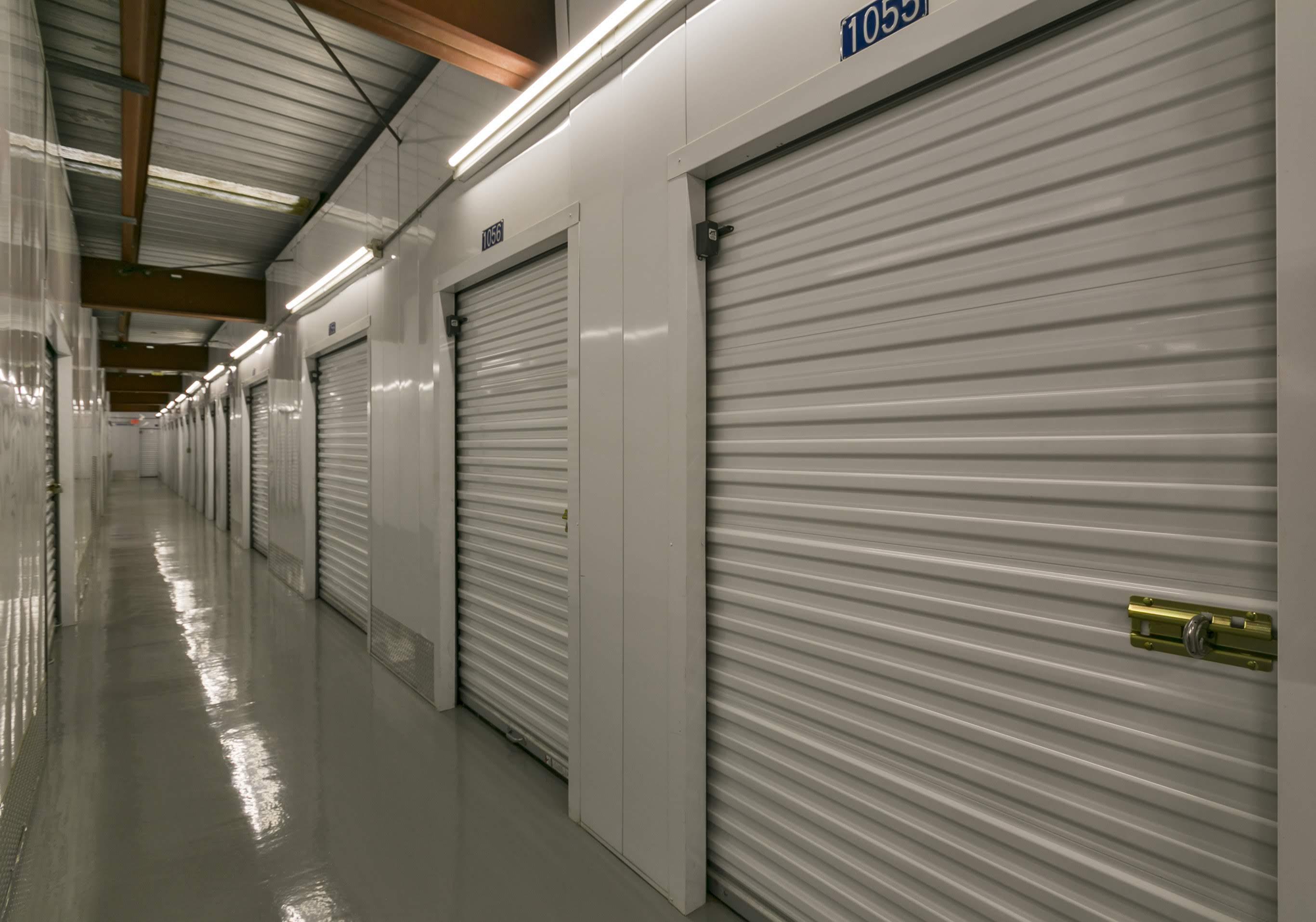Interior storage at Pouch Self Storage