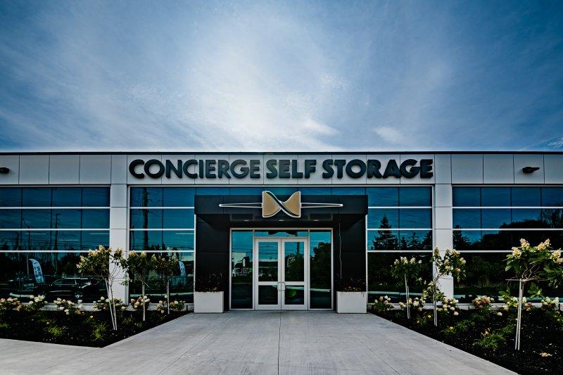 Concierge self storage exterior
