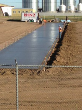 Rhino Storage Concrete Strip