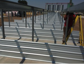 Rhino Storage Unit Construction