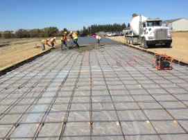 Rhino Storage Concrete Work