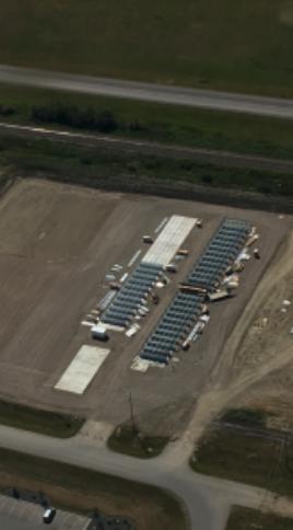 Aerial View of Rhino Storage Construction
