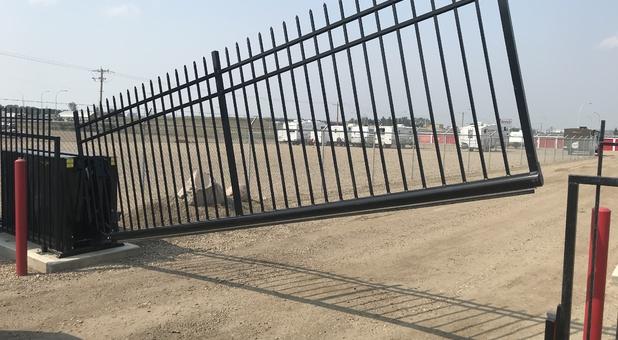 Secure Gate Access Brooks, AB