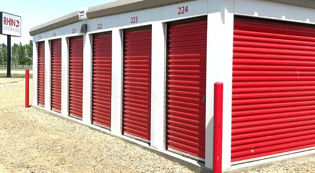 Self Storage Facility in Brooks, AB