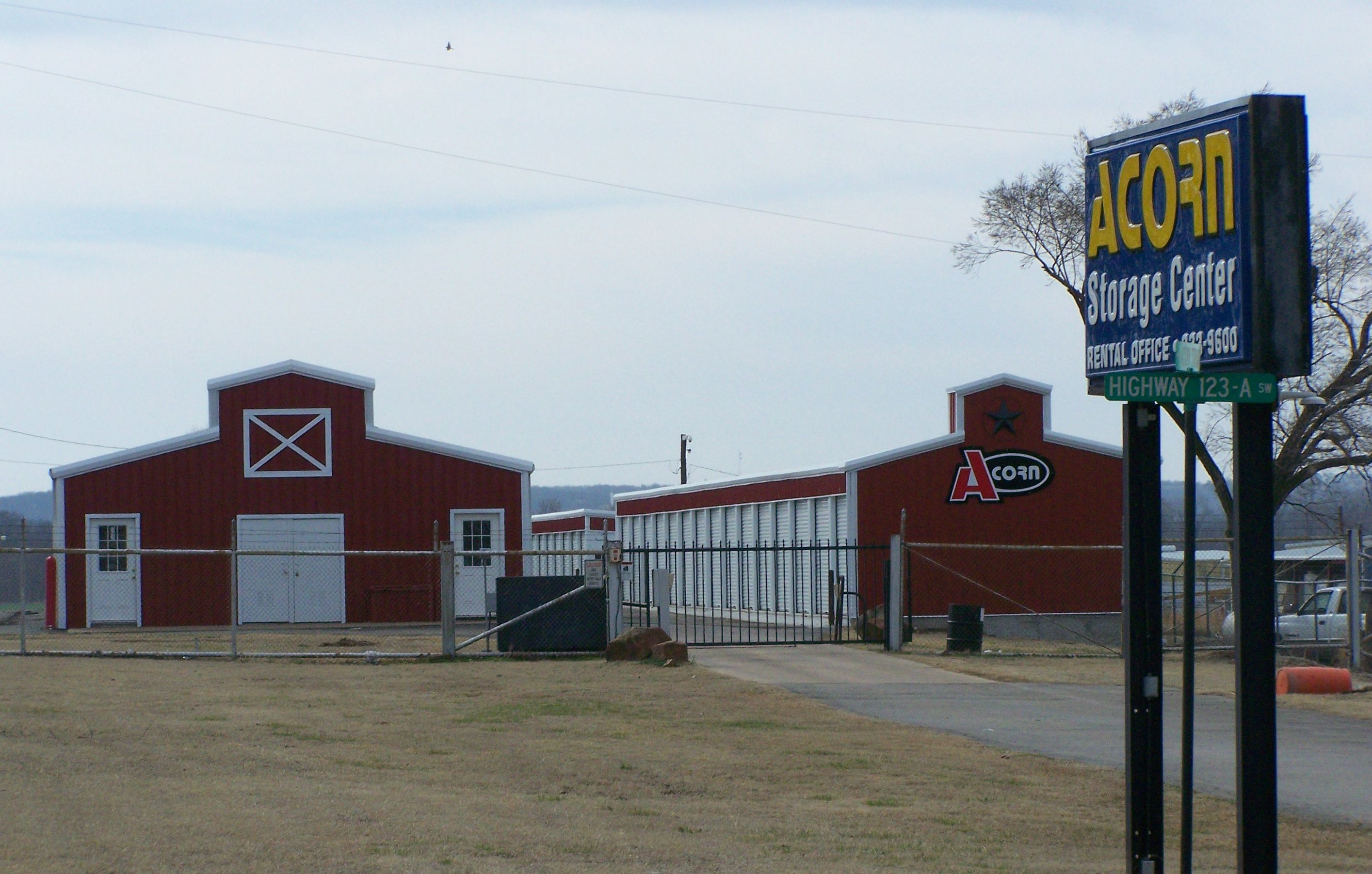 Self Storage on HWY 123
