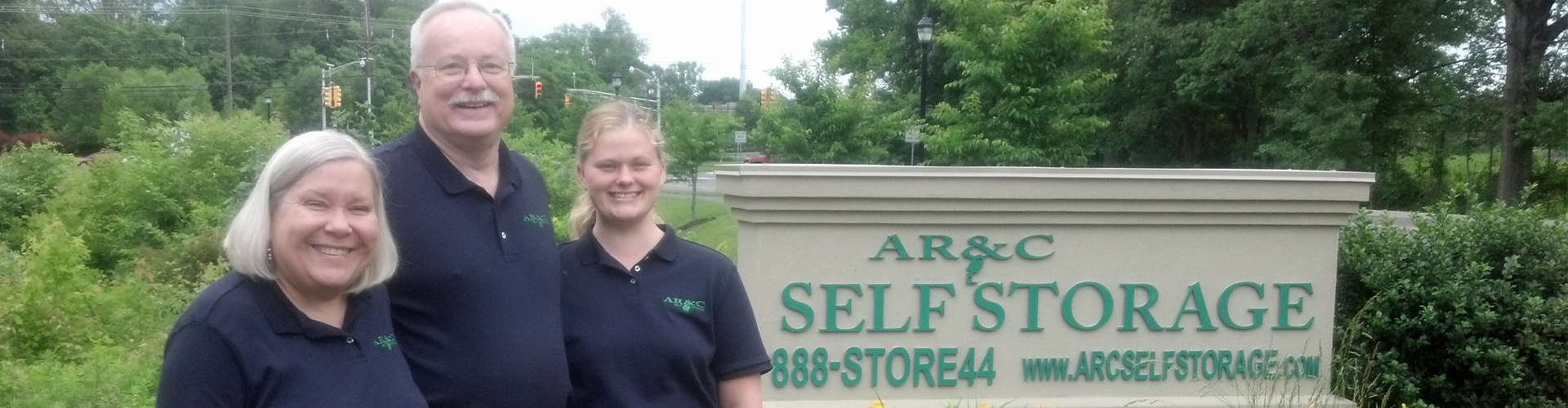Storage Experts at AR&C Self Storage