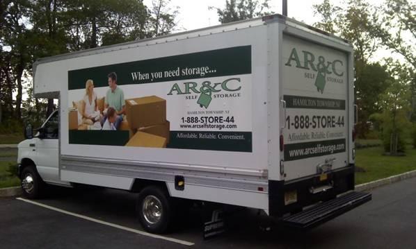 AR&C Self Storage Moving Truck