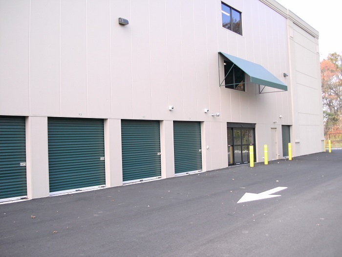 Wide Drive Aisles at AR&C Self Storage