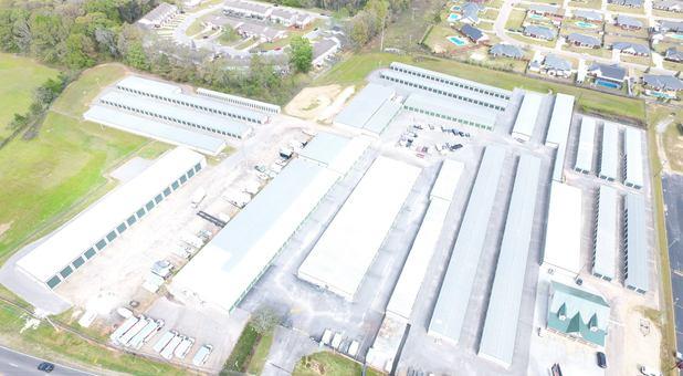 Top of self storage facilities in Enterprise, AL
