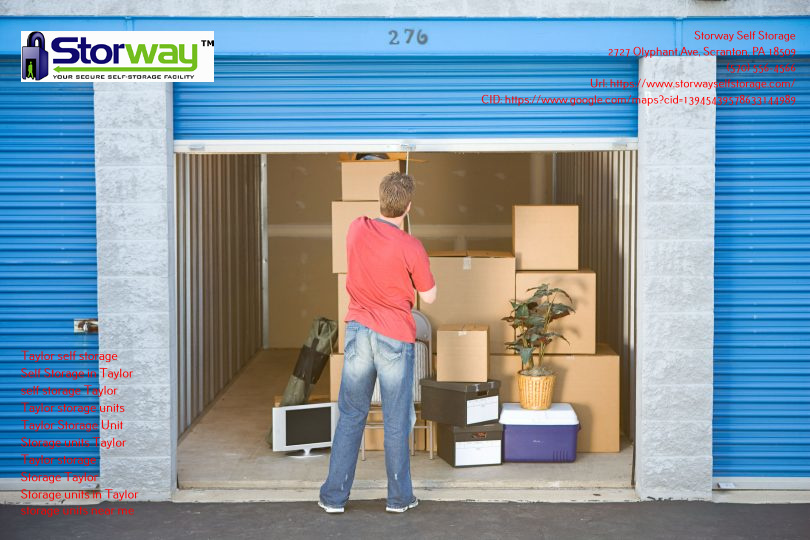 Ways to Find Available Storage Units in Taylor, Pennsylvania