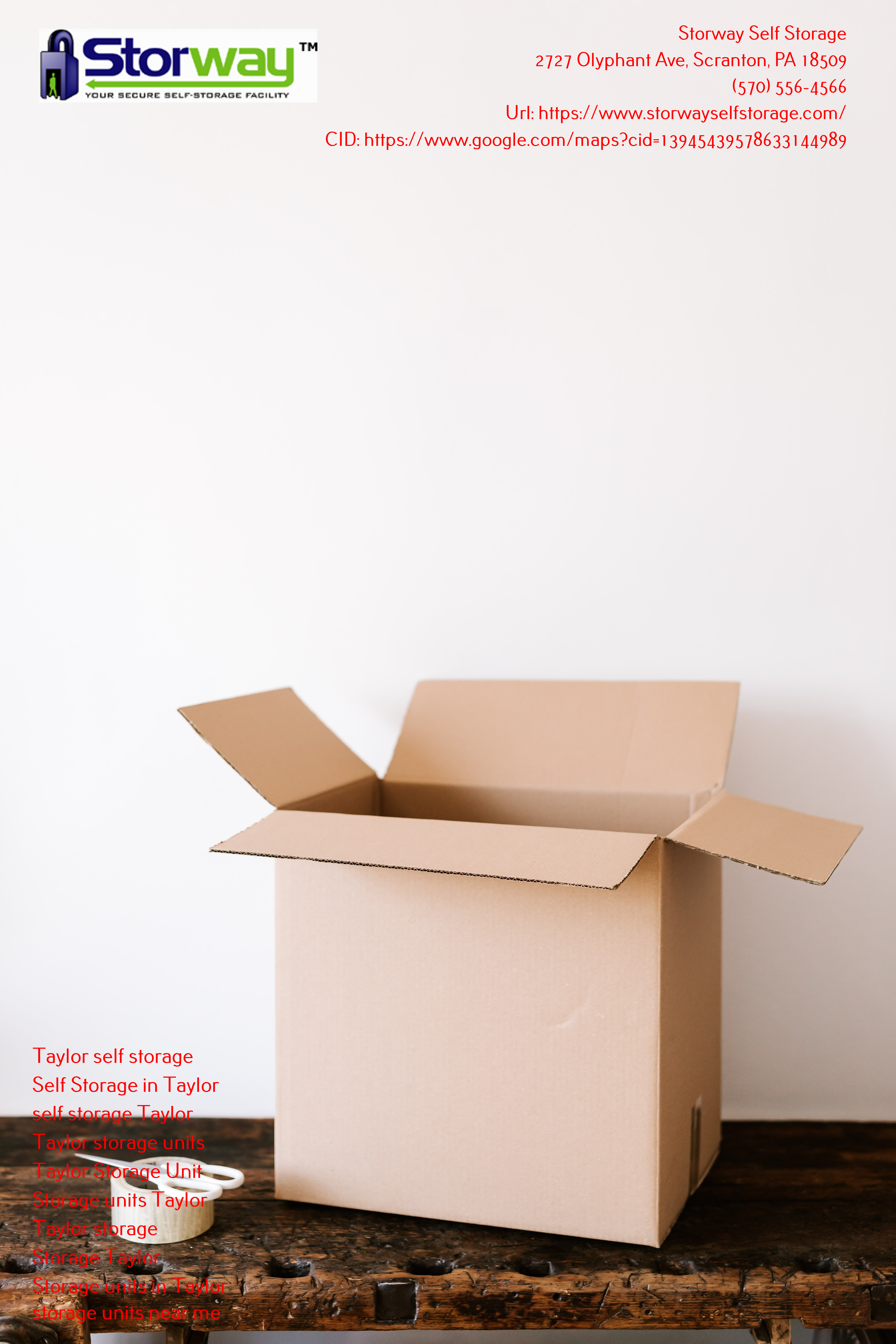 Scranton, PA Self Storages - For Your Relocation Needs