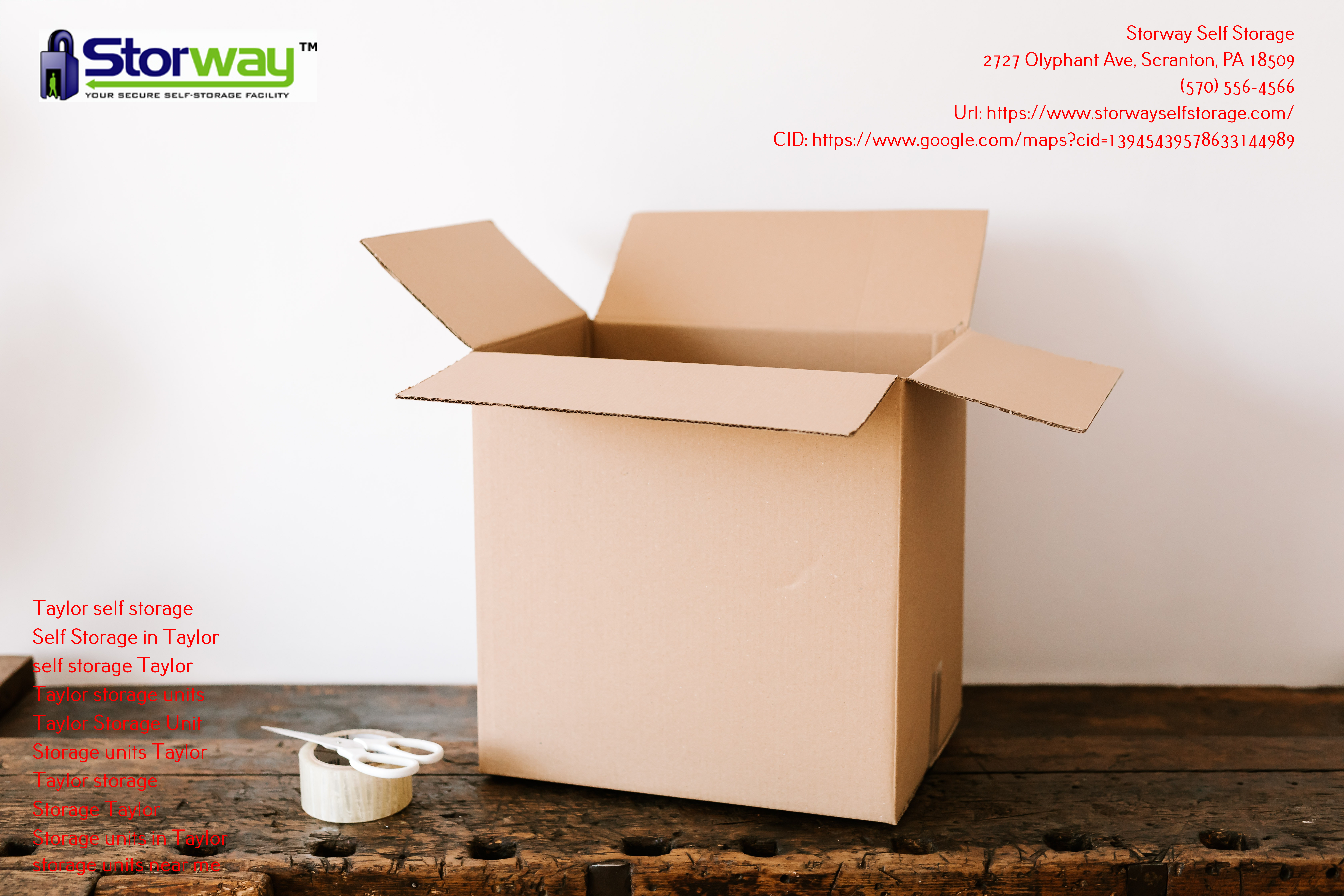Self Storages in Scranton, Pennsylvania, is The Best Choice for You!