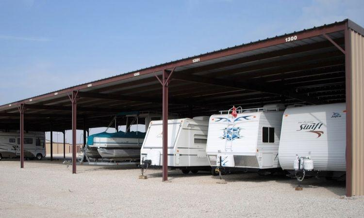 Covered RV, Boat, & Vehicle Storage at GreenFill Storage