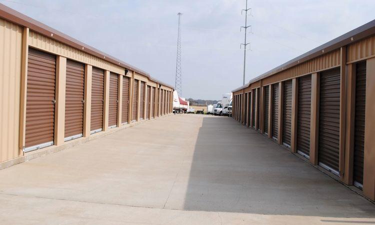 Drive Up Storage Units at GreenFill Storage