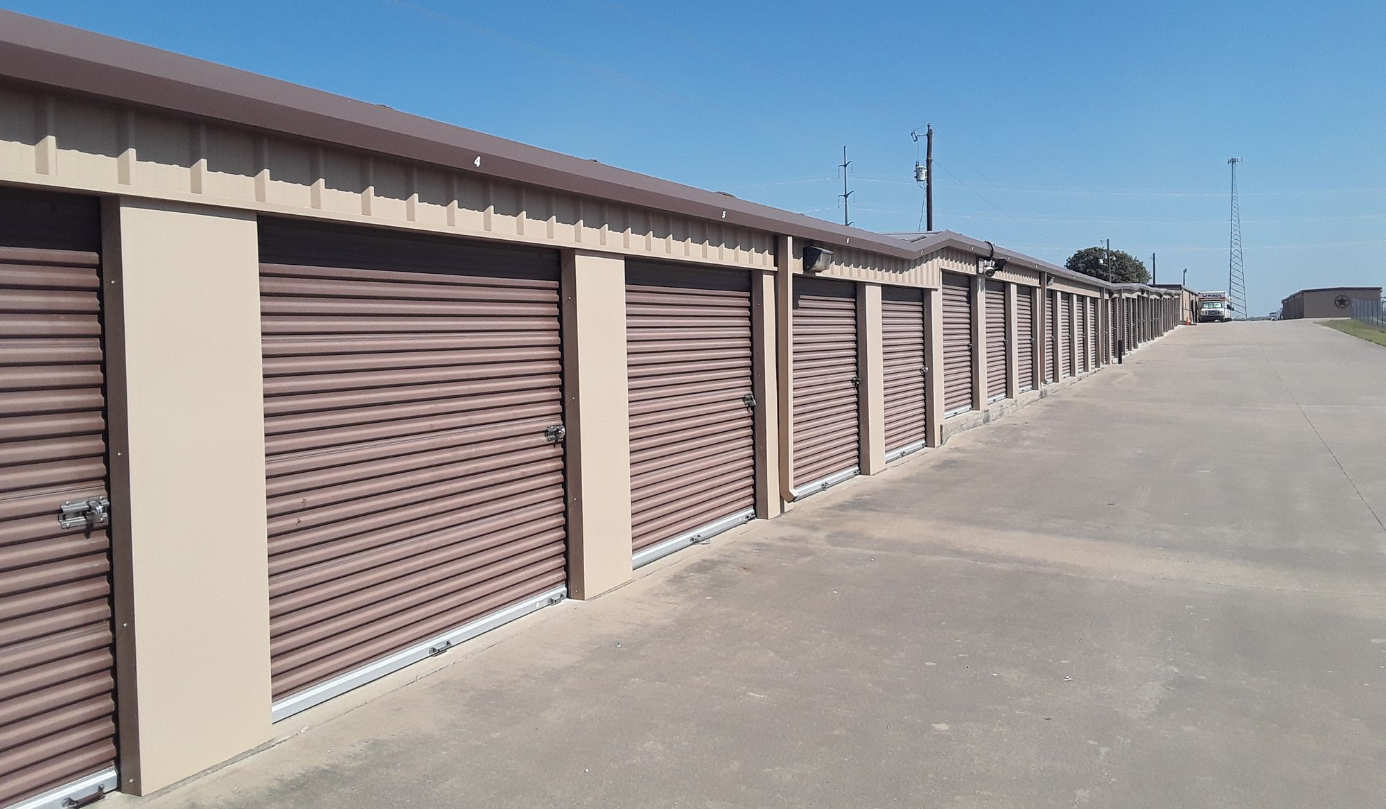 GreenFill Storage Units located in Aubrey, Texas