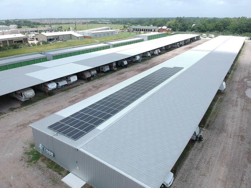 Solar Powered Self Storage