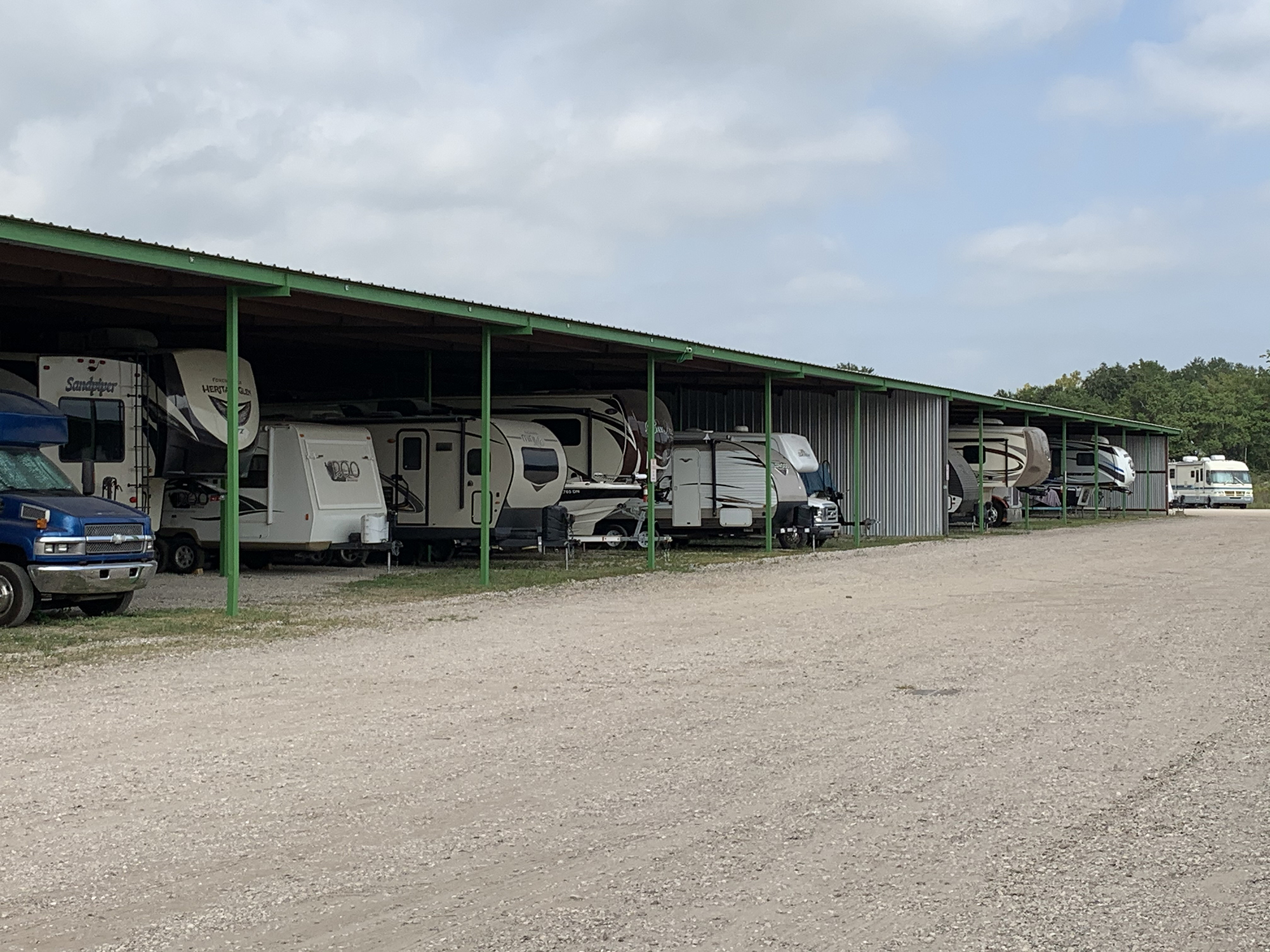 Cover Parking and Storage RVs, Boat, Car