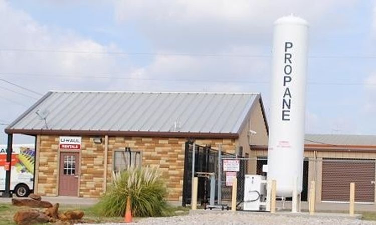 Propane Station at GreenFill Storage Aubrey Texas