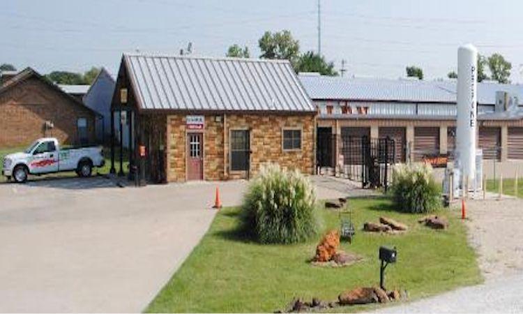 GreenFill Storage Facility in Aubrey, TX