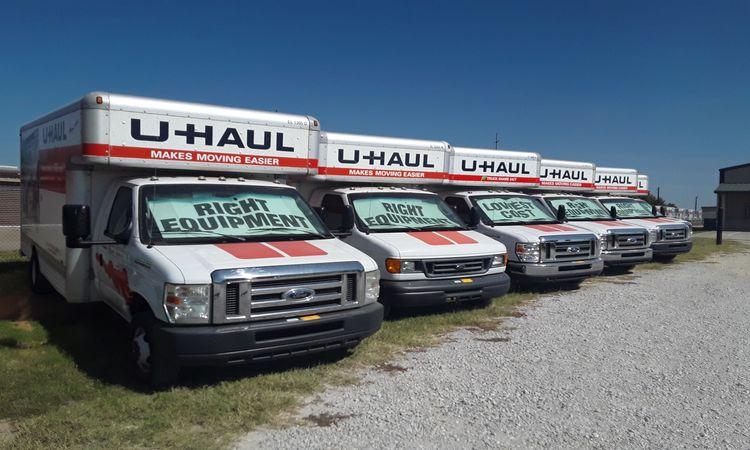 U-Haul Truck Rentals at GreenFill Storage